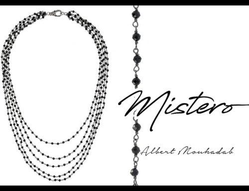 Tutta la sensualità nella collana multifilo Collezione Mistero