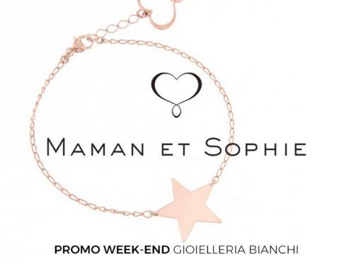 Maman et Sophie: bracciale con stella, collezione cuori stelle e quadrifogli