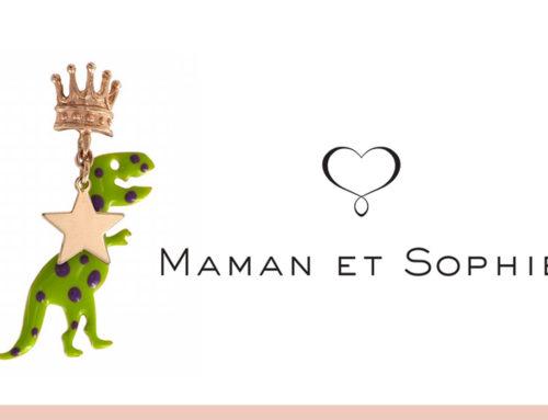 """Regina di stile e fantasia con l'orecchino """"dino, corona e Stella"""" di Maman et Sophie"""