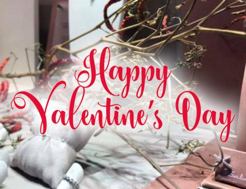San Valentino is coming… e la nostra vetrina si rinnova