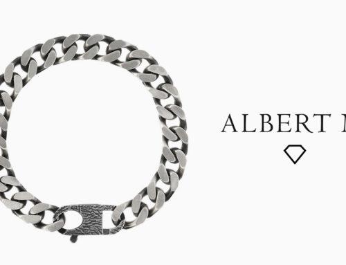 Albert M.: Collezione Uomo – Bracciale maglia satinata